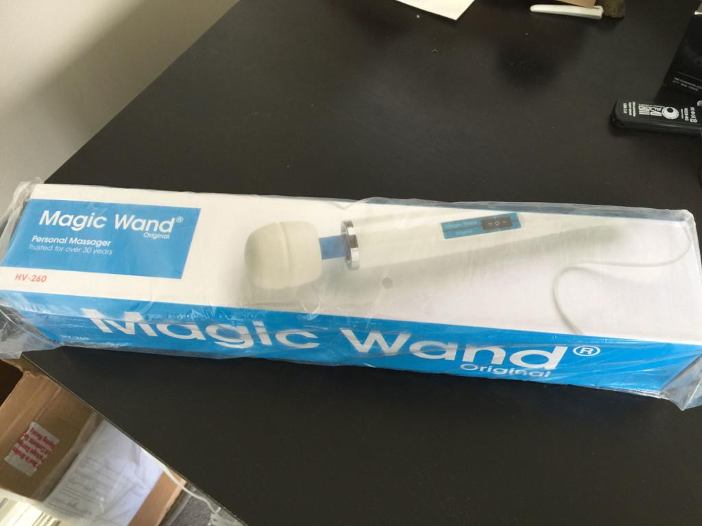 magic wand box