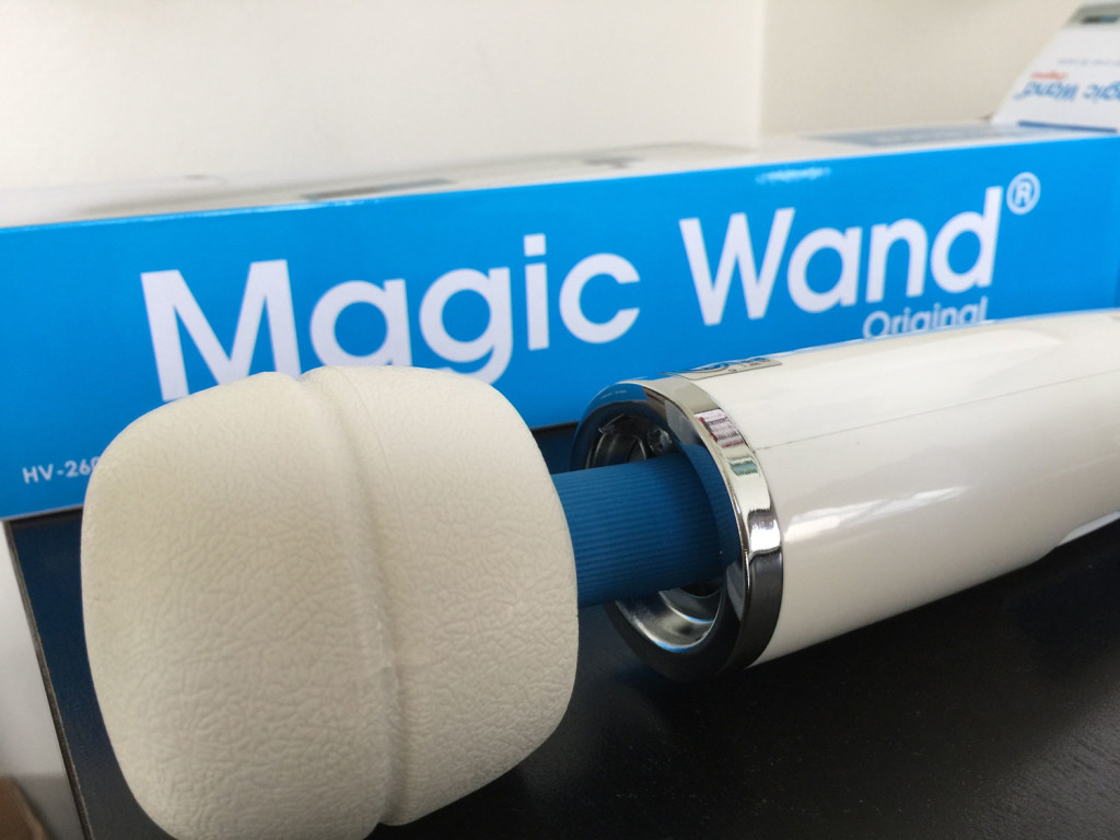 magic wand head