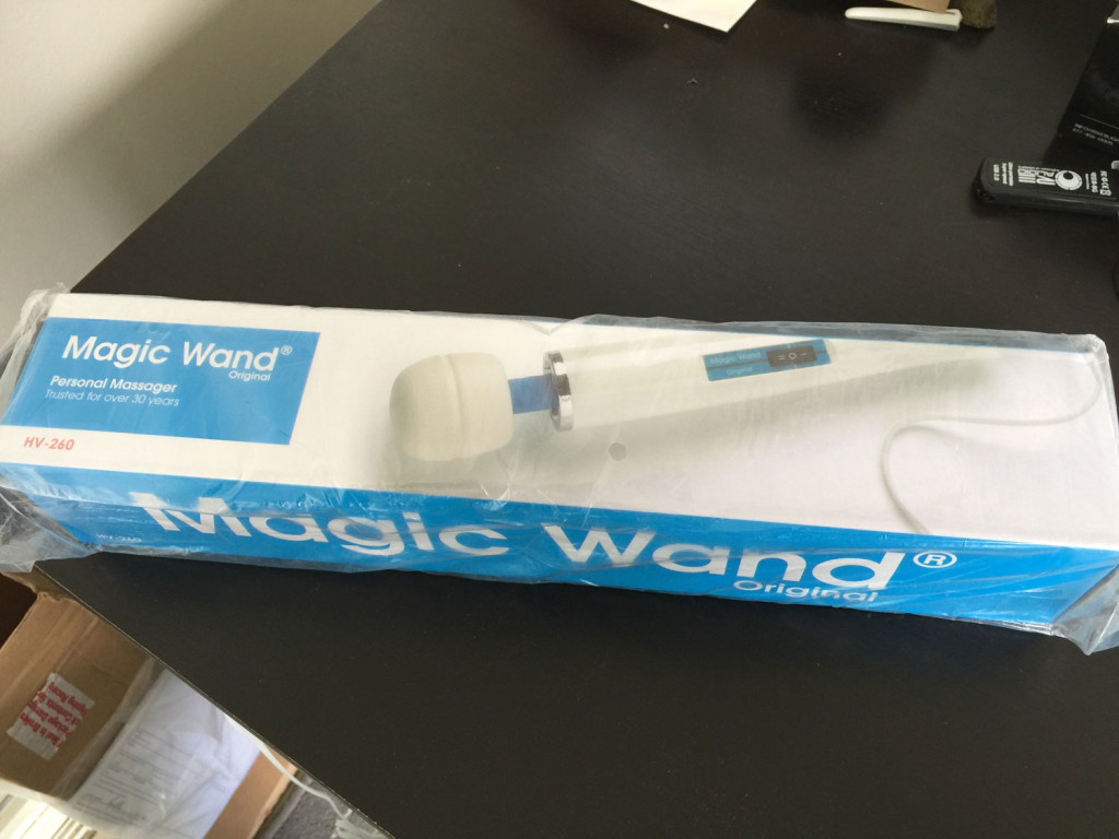 magic wand box